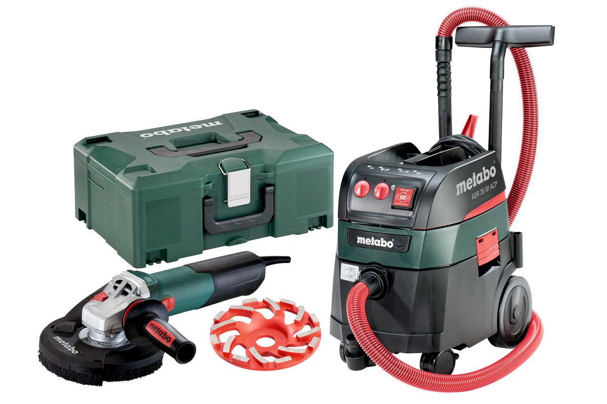 WE 15-125 HD Set GED 125 + ASR 35 M ACP Set (690825000) Mains-powered Machines in a Set