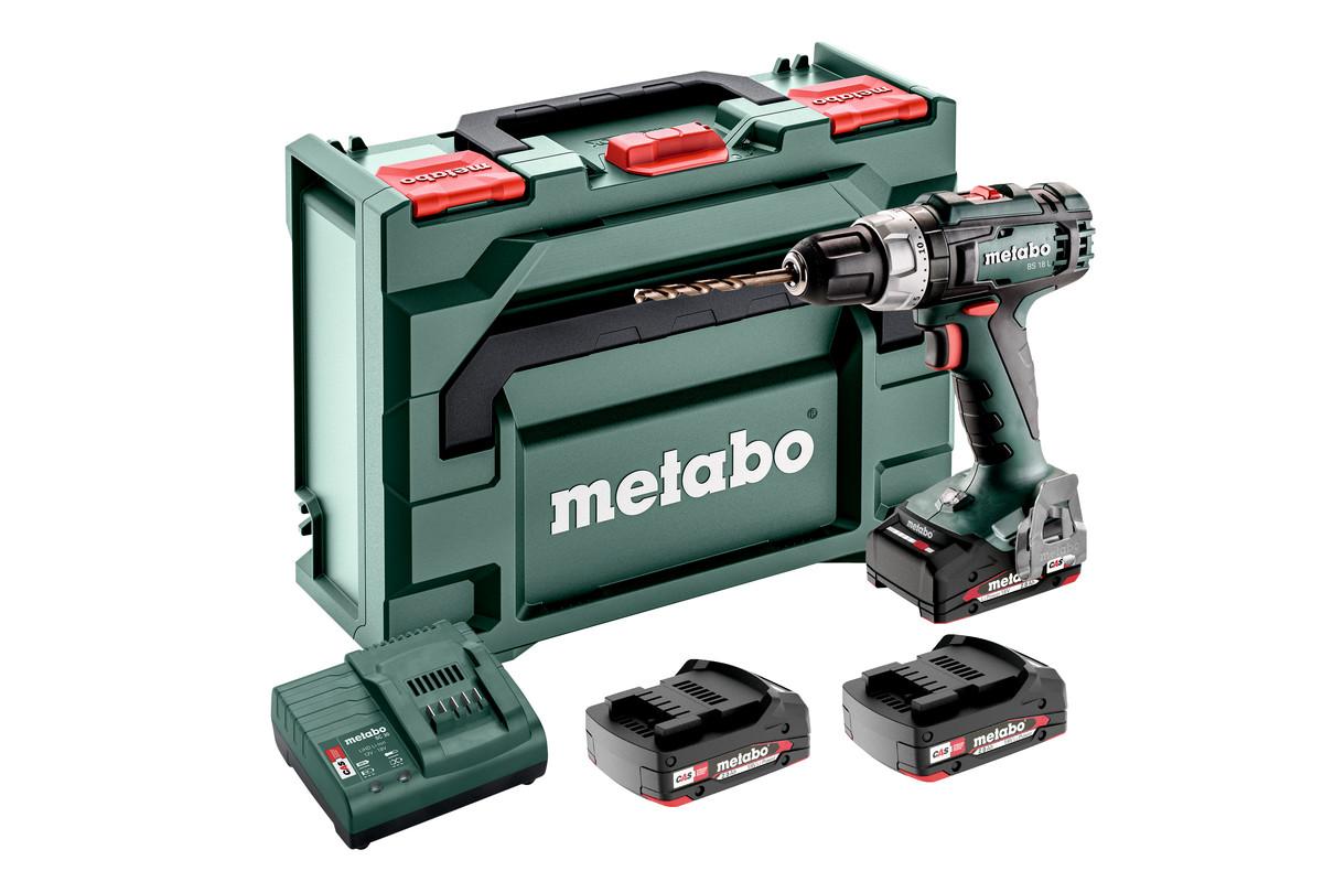bs 18 l set 602321540 cordless drill screwdriver metabo power tools. Black Bedroom Furniture Sets. Home Design Ideas