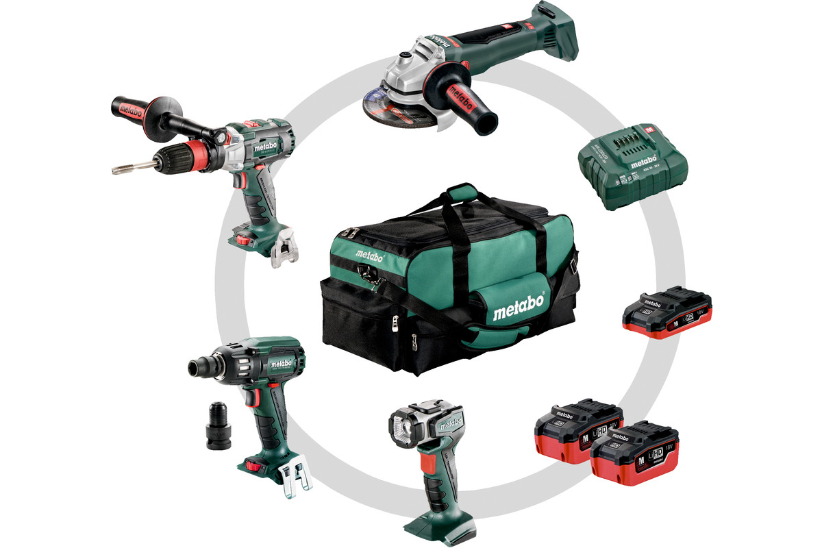 Combo Set 4.1 LiHD (691015000) Cordless Machines in a Set