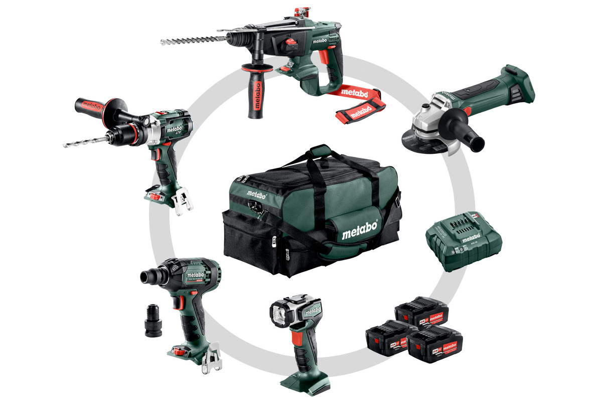 Combo Set 5.1 (691006000) Cordless Machines in a Set