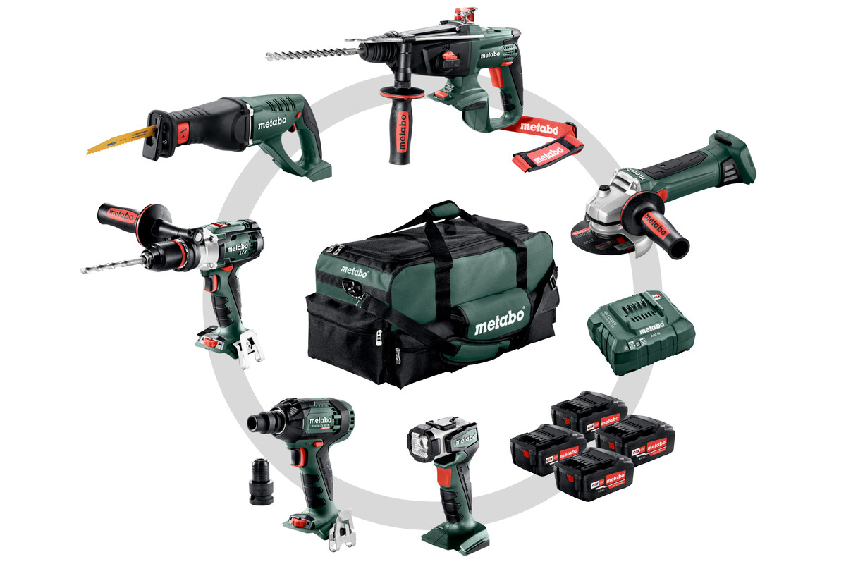 Combo Set 6.1 (691008000) Cordless Machines in a Set