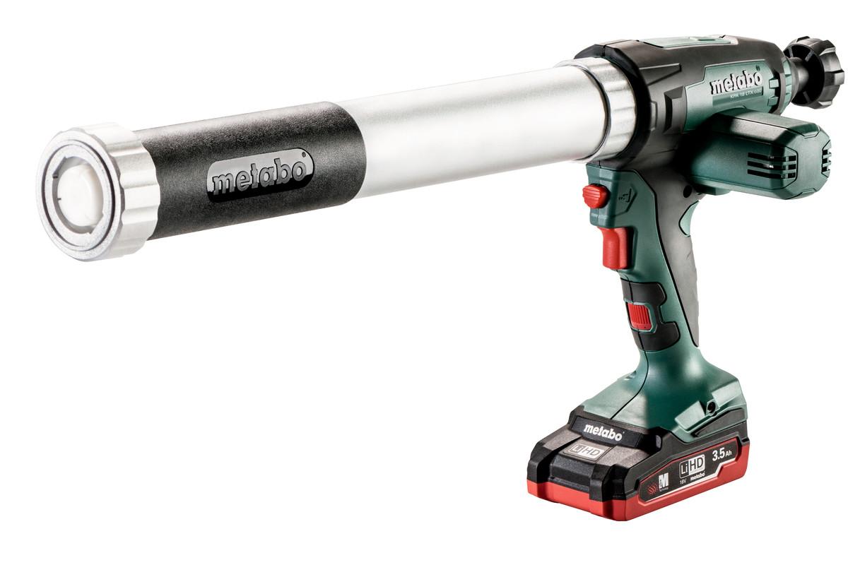 Set KPA 18 LTX 600 (691053000) Cordless Caulking Gun