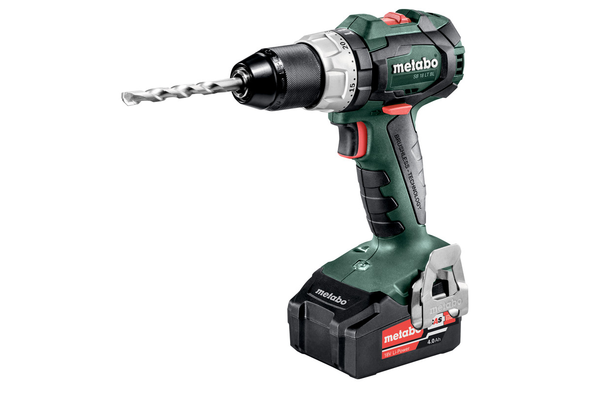 sb 18 lt bl 602316500 cordless hammer drill metabo power tools. Black Bedroom Furniture Sets. Home Design Ideas
