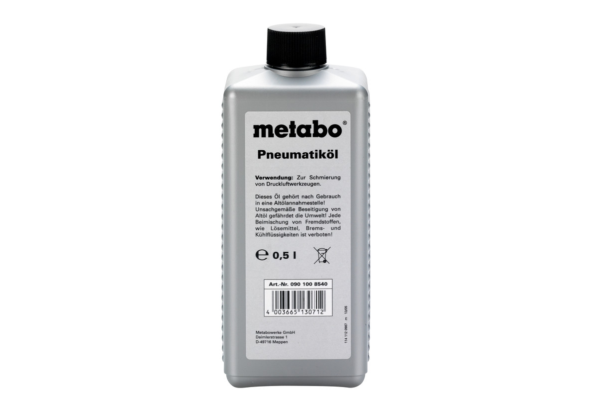 Special oil 0.5 litres for compressed air tools (0901008540)