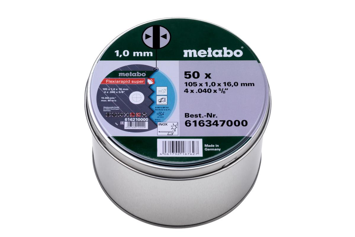 50 Flexiarapid super 105x1.0x16.0 Inox, TF 41 (616347000)
