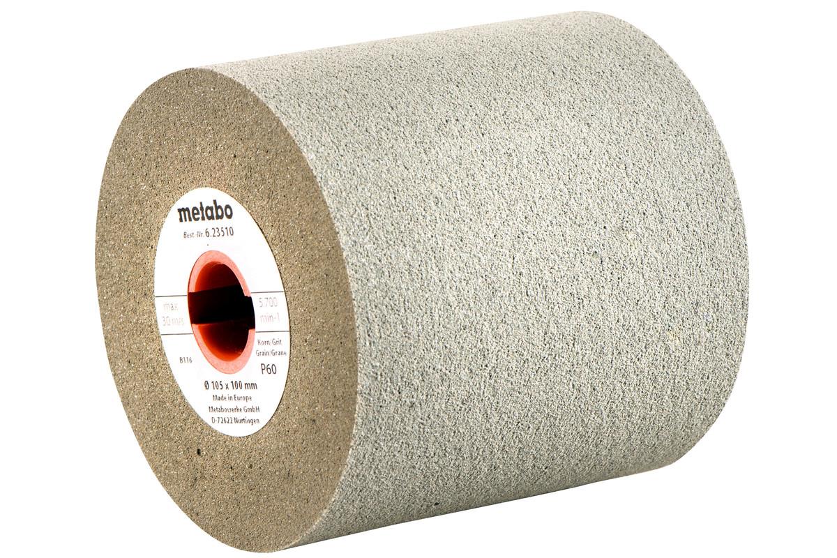 Rolo de lixa em borracha 105x100 mm, P 60 (623510000)
