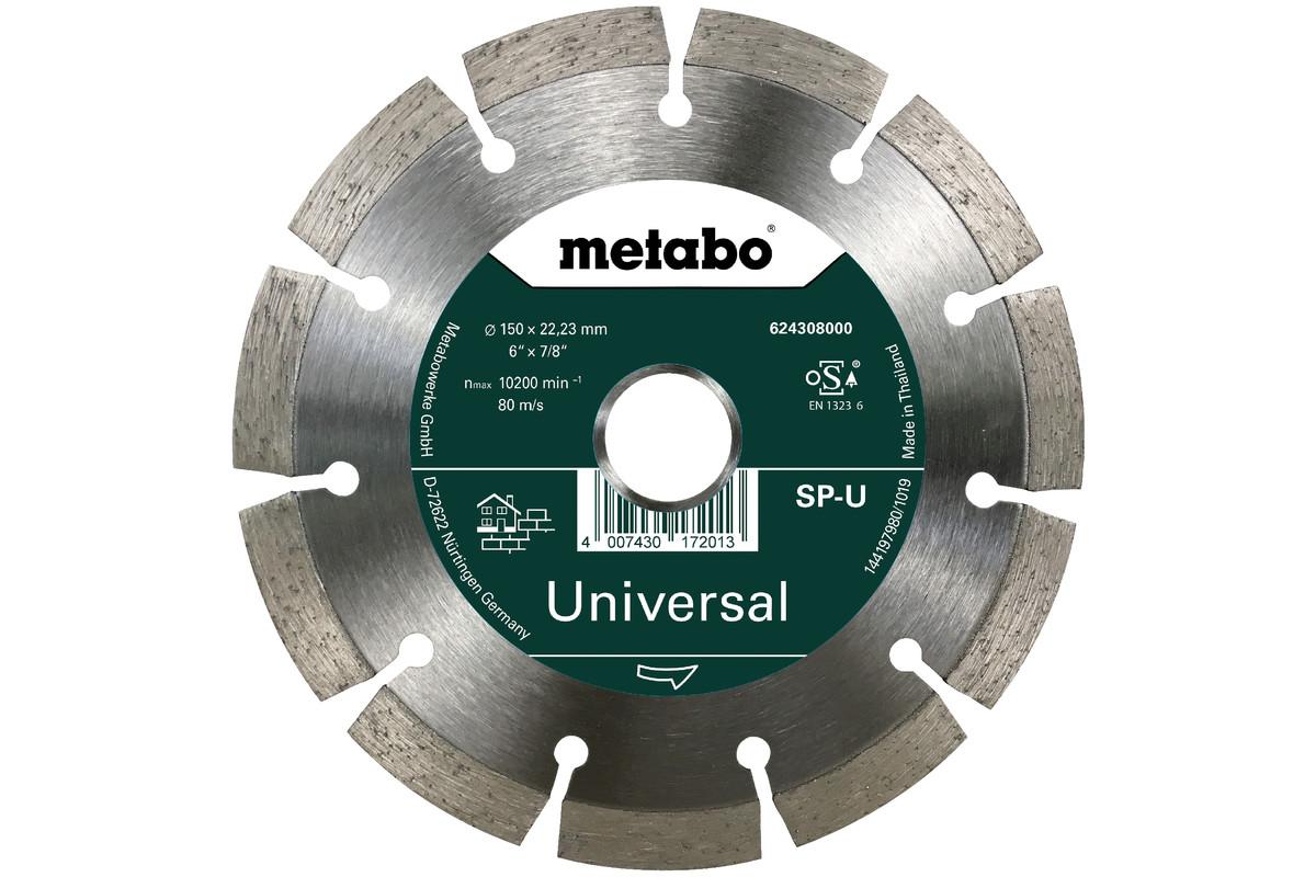 Disco de cortar de diamante - SP - U, 150x22,23 mm (624308000)