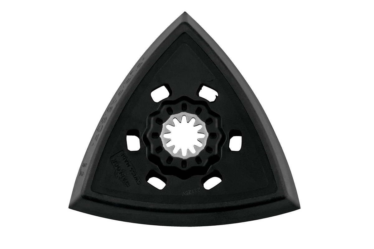 """Placa de rectificación triangular """"Starlock"""" 93 mm con enganche con tejido autoadherente (626944000)"""