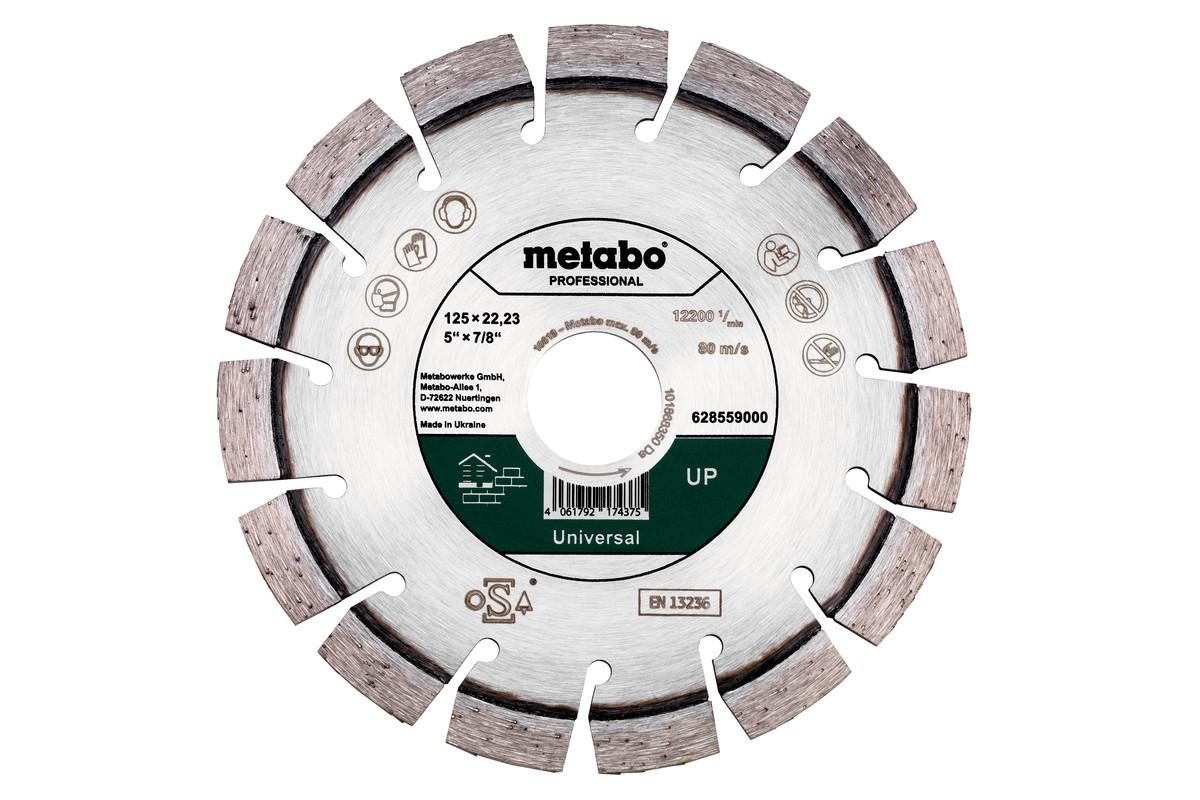 "Diamond cutting disc 125x22.23mm, ""UP"", Universal ""professional"" (628559000)"