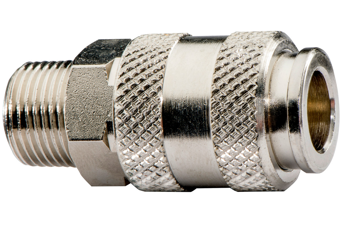 "Quick connection coupling UNI 1/4"" MThr (628700000)"