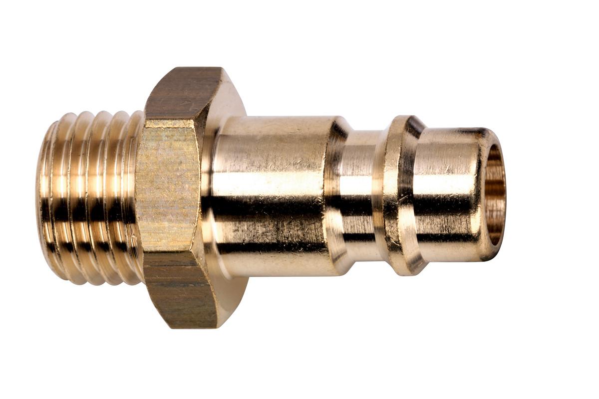 """Thread plug-in nipple Euro 1/4"""" MThr (0901025983)"""