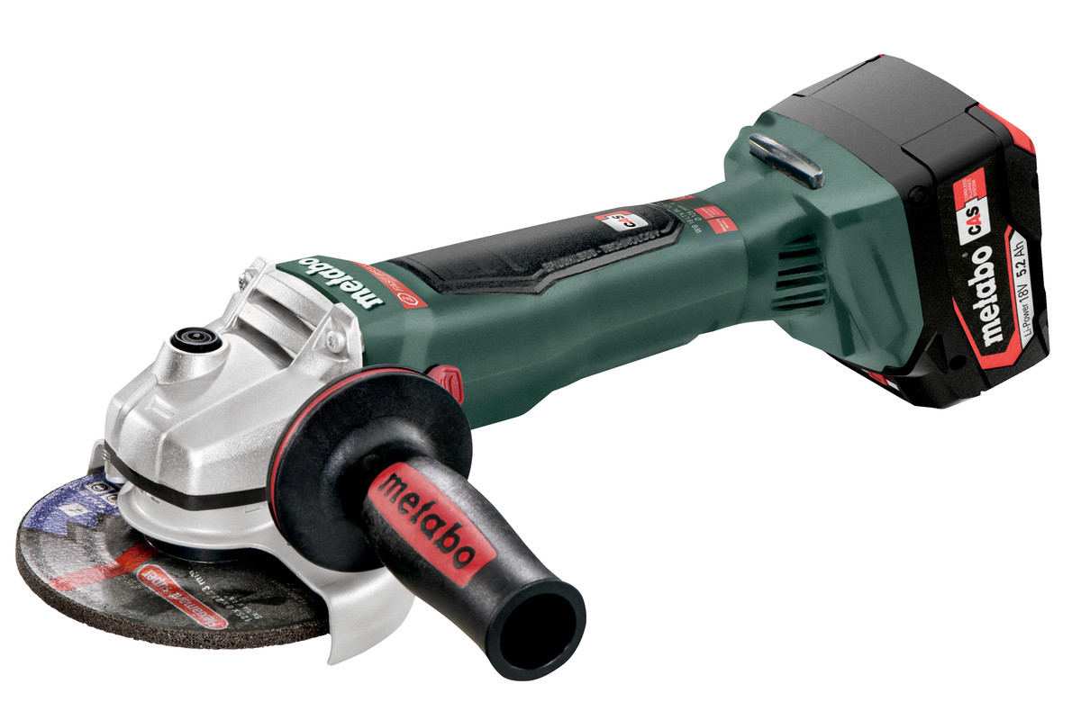 WB 18 LTX BL 125 Quick (613077650) Cordless Angle Grinders