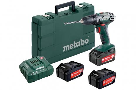 BS 18 Set (602207960) Taladradora atornilladora de batería