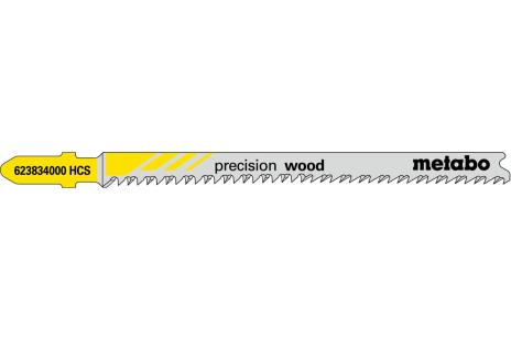 """5 hojas para sierra de calar """"precision wood"""" 91 2,2 mm (623834000)"""