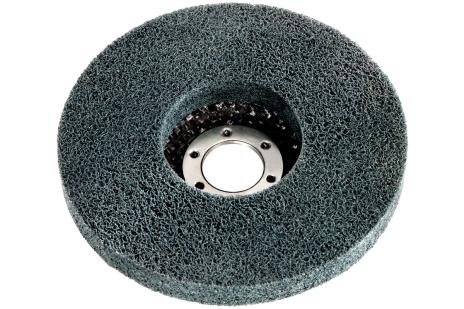 """5 x discos abrasivos compactos de vellón """"Unitized"""", 125x22,23 mm, amoladoras angulares (626417000)"""
