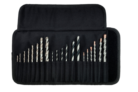 "Drill bit assortment roll-up case ""SP"", 20  pieces (626729000)"