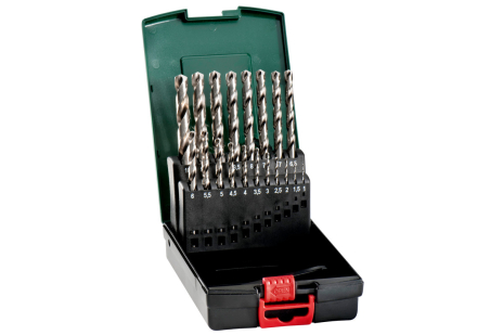 HSS-G drill bit storage case, 19 pieces (627097000)
