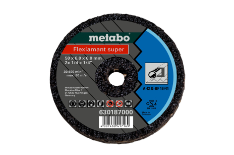 Small cutting disc 50x6x6 mm (pack: 1 piece) (630187000)