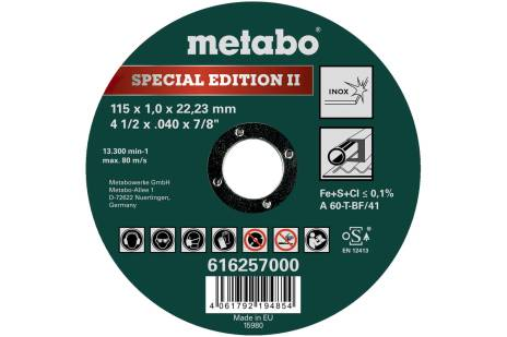 Special Edition II 115 x 1,0 x 22,23 inox, TF 41 (616257000)