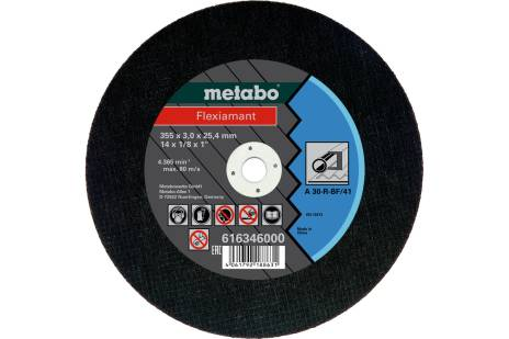 Flexiamant 355x3,0x25,4 acero, TF 41 (616346000)