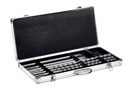 """SDS-max drill bit / chisel set , """"SP"""", 7 pieces (623106000)"""