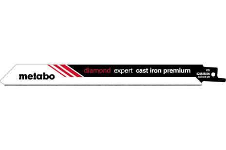 "2 Sabre saw blades ""expert cast iron premium"" 200 x 1.0 mm (626565000)"