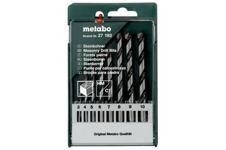 Masonry drill bit storage case, 8 pieces (627193000)