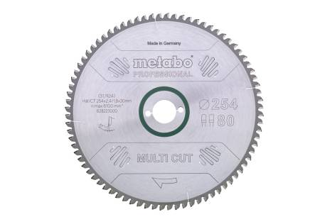 "Saw blade ""multi cut - professional"", 315x30, Z96 FZ/TZ, 5°neg. (628226000)"