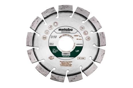 """Disco de corte diamantado 115x22,23mm, """"UP"""", universal """"professional"""" (628558000)"""