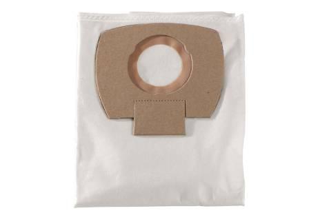 5 Sacos do filtro em tecido - 25/30 l, ASA 25/30 L PC/ inox (630296000)