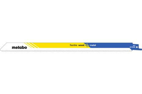 "2 Sabre saw blades ""flexible wood + metal"" 300 x 0.9 mm (631125000)"