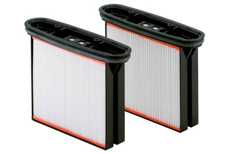 2 Filter cassettes, polyester, nano-coated, dust class M (631894000)