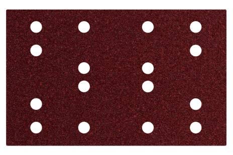 Hojas de lijar adhesivas 80 x 133 mm, P 40, 16 agujeros, con enganche con tejido autoadherente (SRA) (635190000)