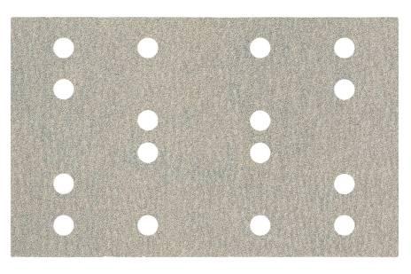 Folhas de lixa autoaderentes 80 x 133 mm, P 240, 16 furos, com fixação autoaderente (SRA) (635203000)