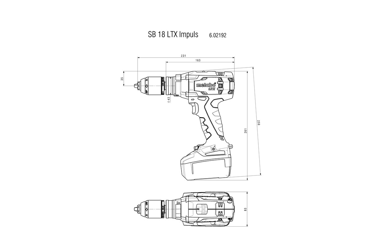User manual Metabo SB 18 LTX Impuls (68 pages)