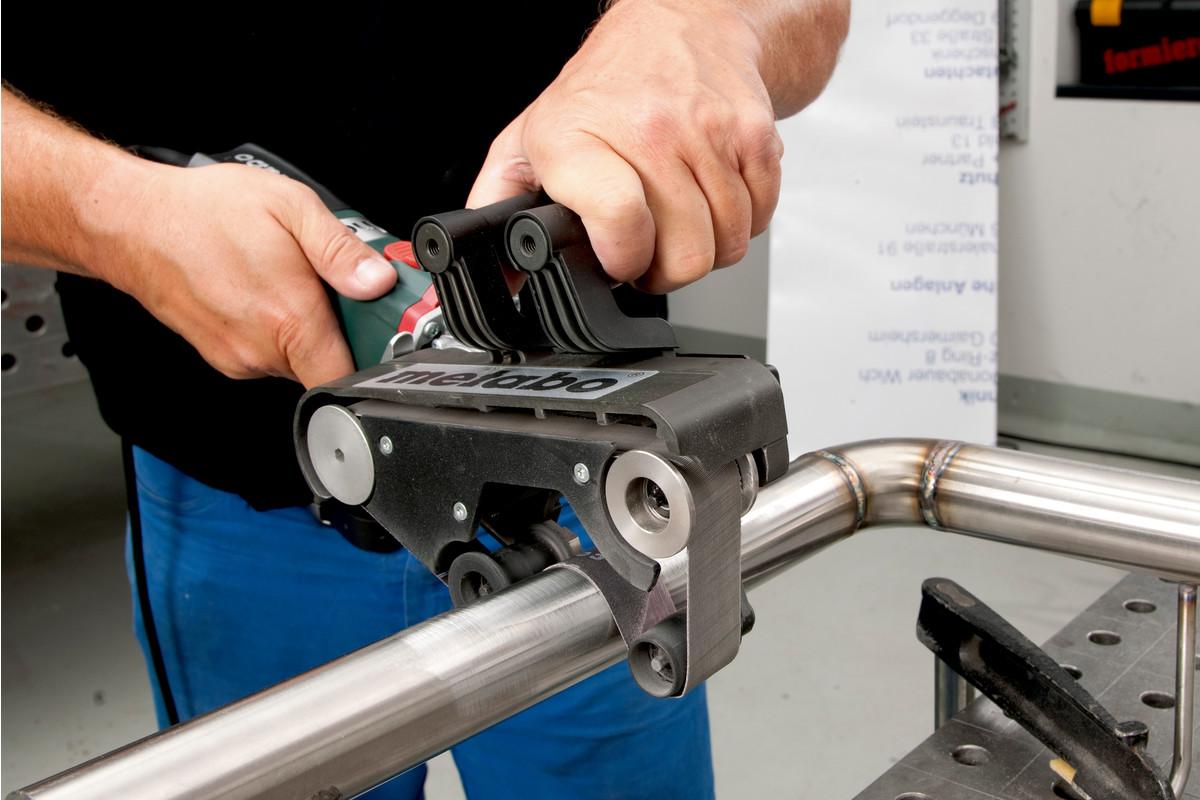 Rbe 9 60 Set 602183510 Tube Belt Sander Metabo Power Tools