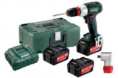 BS 18 LT Quick Set (602104960) Taladradora atornilladora de batería
