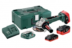 WB 18 LTX BL 125 Quick Set (613077760) Cordless Angle Grinders