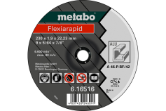 Flexiarapid 125 x 1,0 x 22,23 mm, aluminio, TF 41 (616513000)