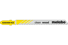 "5 Jigsaw blades ""clean wood"" 74/ 2.5 mm (623634000)"