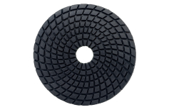 5 Diamond self-adhesive polishing discs Ø 100 mm, buff black, wet (626146000)