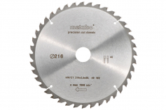 Circular saw blade HW/CT 216 x 30, 40 WZ 5° neg., classic (628060000)