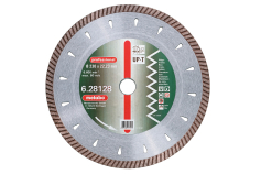 "Disco de corte diamantado, 125x2,2x22,23mm, ""professional"", ""UP-T"", Turbo, universal (628125000)"