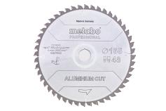 "Hoja de sierra ""aluminium cut - professional"", 165x20 Z48 DP/DT 5°neg (628276000)"
