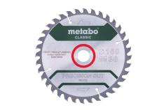 """Saw blade """"precision cut wood - classic"""", 160x20 Z36 WZ 10° (628278000)"""