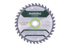 """Saw blade """"cordless cut wood - classic"""", 165x20 Z36 WZ 15° (628279000)"""