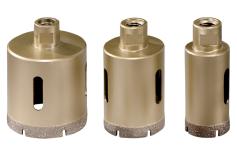 """Set coronas de perforación diamantadas para azulejos """"Dry"""", 3 piezas, M14 (628322000)"""