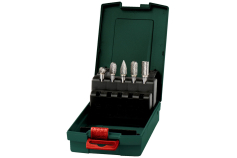 Carbide router bit set, 5 pieces (628403000)