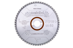 """Saw blade """"laminate cut - professional"""", 216x30 Z60 FZ/TZ 0° (628442000)"""