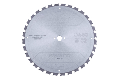 "Hoja de sierra ""power cut wood - classic"", 450x3,5/2,5x30 Z32 TZ 15° (628648000)"
